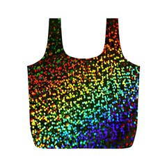 Construction Paper Iridescent Full Print Recycle Bags (m)