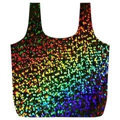 Construction Paper Iridescent Full Print Recycle Bags (l)