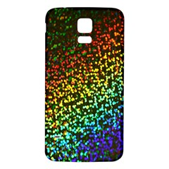 Construction Paper Iridescent Samsung Galaxy S5 Back Case (white)
