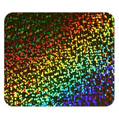Construction Paper Iridescent Double Sided Flano Blanket (Small)