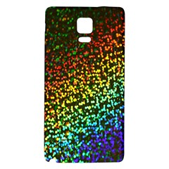 Construction Paper Iridescent Galaxy Note 4 Back Case