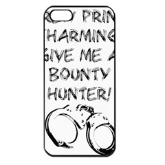 GIVE ME A BOUNTY HUNTER! Apple iPhone 5 Seamless Case (Black)