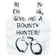 Give Me A Bounty Hunter! Full Print Recycle Bags (l)