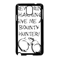 GIVE ME A BOUNTY HUNTER! Samsung Galaxy Note 3 Neo Hardshell Case (Black)
