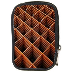 Metal Grid Framework Creates An Abstract Compact Camera Cases