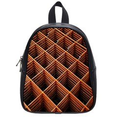 Metal Grid Framework Creates An Abstract School Bags (small)