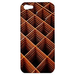Metal Grid Framework Creates An Abstract Apple iPhone 5 Hardshell Case