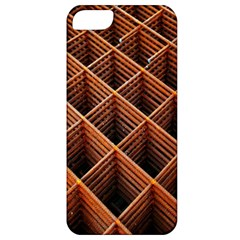 Metal Grid Framework Creates An Abstract Apple Iphone 5 Classic Hardshell Case
