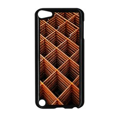 Metal Grid Framework Creates An Abstract Apple Ipod Touch 5 Case (black)