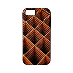 Metal Grid Framework Creates An Abstract Apple Iphone 5 Classic Hardshell Case (pc+silicone)