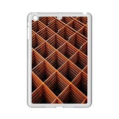Metal Grid Framework Creates An Abstract Ipad Mini 2 Enamel Coated Cases