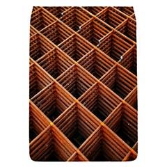 Metal Grid Framework Creates An Abstract Flap Covers (S)