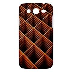 Metal Grid Framework Creates An Abstract Samsung Galaxy Mega 5.8 I9152 Hardshell Case