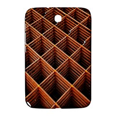 Metal Grid Framework Creates An Abstract Samsung Galaxy Note 8 0 N5100 Hardshell Case
