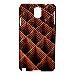 Metal Grid Framework Creates An Abstract Samsung Galaxy Note 3 N9005 Hardshell Case