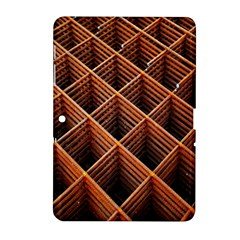 Metal Grid Framework Creates An Abstract Samsung Galaxy Tab 2 (10 1 ) P5100 Hardshell Case