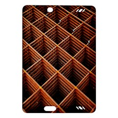 Metal Grid Framework Creates An Abstract Amazon Kindle Fire HD (2013) Hardshell Case