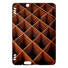 Metal Grid Framework Creates An Abstract Kindle Fire HDX Hardshell Case
