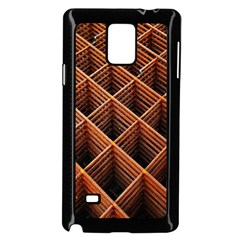 Metal Grid Framework Creates An Abstract Samsung Galaxy Note 4 Case (black)