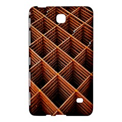 Metal Grid Framework Creates An Abstract Samsung Galaxy Tab 4 (7 ) Hardshell Case