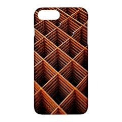 Metal Grid Framework Creates An Abstract Apple Iphone 7 Plus Hardshell Case