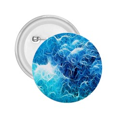 Fractal Occean Waves Artistic Background 2.25  Buttons