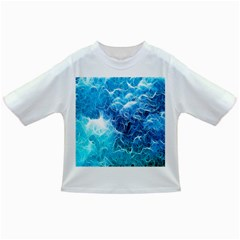 Fractal Occean Waves Artistic Background Infant/Toddler T-Shirts
