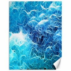 Fractal Occean Waves Artistic Background Canvas 18  X 24