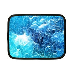 Fractal Occean Waves Artistic Background Netbook Case (small)