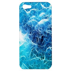 Fractal Occean Waves Artistic Background Apple Iphone 5 Hardshell Case