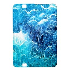 Fractal Occean Waves Artistic Background Kindle Fire Hd 8 9