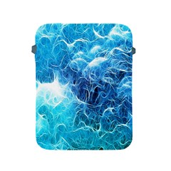Fractal Occean Waves Artistic Background Apple Ipad 2/3/4 Protective Soft Cases