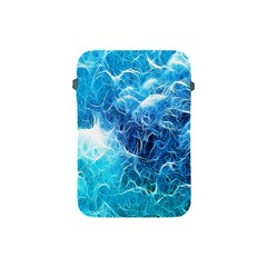 Fractal Occean Waves Artistic Background Apple iPad Mini Protective Soft Cases