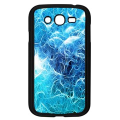 Fractal Occean Waves Artistic Background Samsung Galaxy Grand Duos I9082 Case (black)