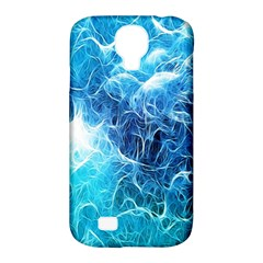 Fractal Occean Waves Artistic Background Samsung Galaxy S4 Classic Hardshell Case (PC+Silicone)