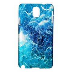 Fractal Occean Waves Artistic Background Samsung Galaxy Note 3 N9005 Hardshell Case