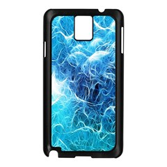 Fractal Occean Waves Artistic Background Samsung Galaxy Note 3 N9005 Case (black)
