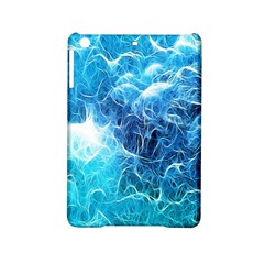Fractal Occean Waves Artistic Background iPad Mini 2 Hardshell Cases