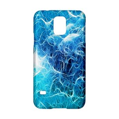 Fractal Occean Waves Artistic Background Samsung Galaxy S5 Hardshell Case