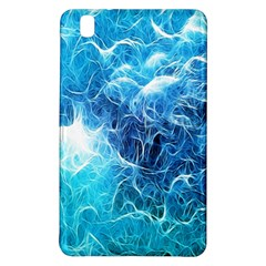 Fractal Occean Waves Artistic Background Samsung Galaxy Tab Pro 8 4 Hardshell Case