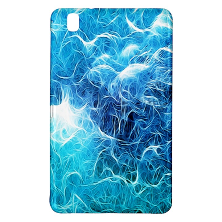 Fractal Occean Waves Artistic Background Samsung Galaxy Tab Pro 8.4 Hardshell Case