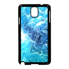 Fractal Occean Waves Artistic Background Samsung Galaxy Note 3 Neo Hardshell Case (Black)