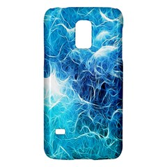 Fractal Occean Waves Artistic Background Galaxy S5 Mini