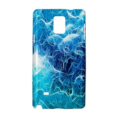 Fractal Occean Waves Artistic Background Samsung Galaxy Note 4 Hardshell Case