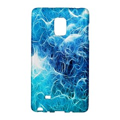Fractal Occean Waves Artistic Background Galaxy Note Edge