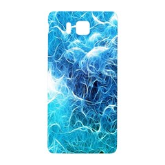 Fractal Occean Waves Artistic Background Samsung Galaxy Alpha Hardshell Back Case