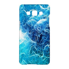 Fractal Occean Waves Artistic Background Samsung Galaxy A5 Hardshell Case