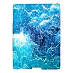 Fractal Occean Waves Artistic Background Samsung Galaxy Tab S (10 5 ) Hardshell Case
