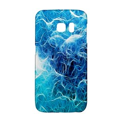 Fractal Occean Waves Artistic Background Galaxy S6 Edge
