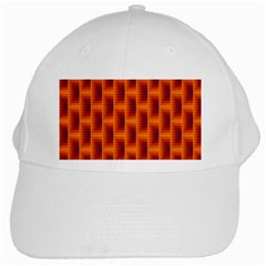 Fractal Multicolored Background White Cap